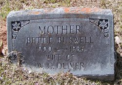 Bettie <I>Buswell</I> Oliver