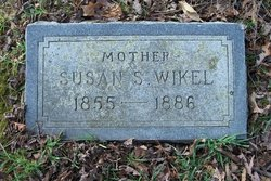 Susan S. <I>Willey</I> Wikel