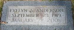 Evelyn <I>Shumate</I> Anderson