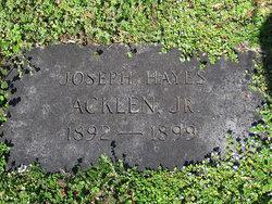 Joseph Hayes Acklen, Jr
