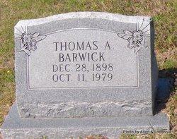Thomas Andrew Barwick
