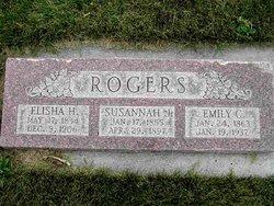 Susannah Julia <I>Rogers</I> Rogers
