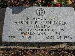 CPL Harold Rienhart Stahlecker