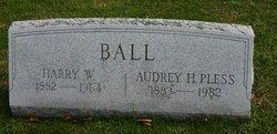 Audrey H. <I>Pless</I> Ball