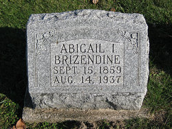 "Abigail Isadora ""Ida"" <I>Hale</I> Brizendine"