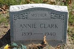 Annie Alice <I>Cox</I> Clark