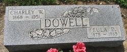 Eulah Della <I>McElwee</I> Dowell