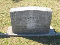 Elizabeth <I>Deignan</I> Hayne