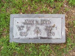 John Myrtle Boyd