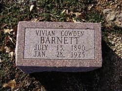 Vivian <I>Cowden</I> Barnett