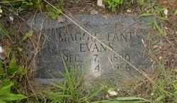 Maggie Belle <I>Fant</I> Evans