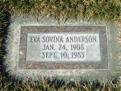 Eva Sovina <I>Stanton</I> Anderson
