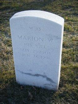 Marion W Skoog
