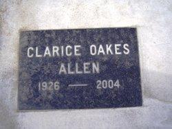 Clarice <I>Oakes</I> Allen