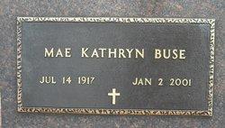 Mae Kathryn <I>Hansel</I> Buse