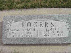 Sarah Ruby <I>Hokanson</I> Rogers