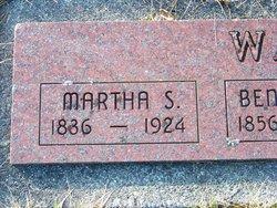 """Martha Pashens """"Patience"""" <I>Smith</I> Wade"""