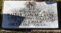 Walter Van McCarty