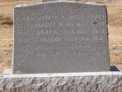 Harriet Mary <I>Pushard</I> Smith