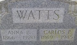 Anna <I>Cauble</I> Watts