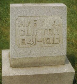 Mary Anne <I>Pugh</I> Clifton