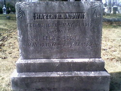 Ella B. <I>Poor</I> Brown