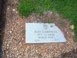 Pvt Roy Cawthon