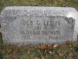 Iola G <I>Lewis</I> Anthony