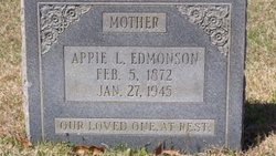 Appie Julie <I>Rhodes</I> Edmonson