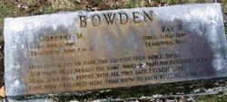 Fay R. Bowden
