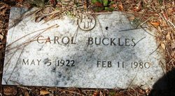 Carol Buckles