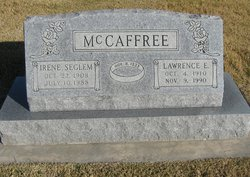 Irene <I>Seglem</I> McCaffree