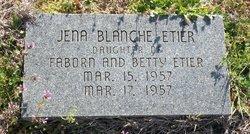 Jena Blanche Etier