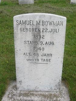 Samuel M. Bowman