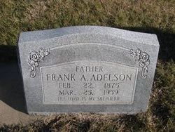 Frank August Adelson