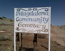 Magdalena Community Cemetery