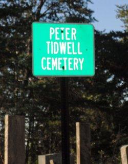 Peter Tidwell Cemetery