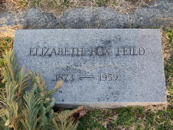Elizabeth <I>Fox</I> Feild