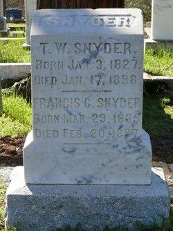 John Washington Snyder