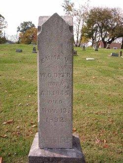Emma V. <I>Thomas</I> Dyer