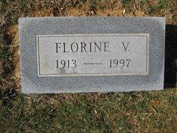 "Virginia Florence ""Florine"" <I>Hilliard</I> Cubbage"