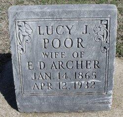 Lucy J. <I>Poor</I> Archer