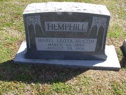 Mabel Leota <I>Hugon</I> Hemphill