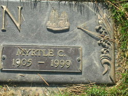 Myrtle Clarissa <I>Eng</I> Cain