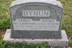Alice <I>Seals</I> Bynum