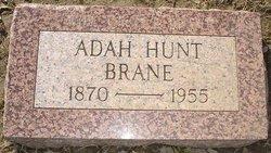 Adah <I>Hunt</I> Brane