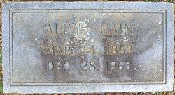 Alice Cain