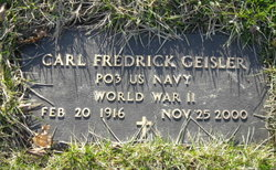 Carl Frederick Geisler