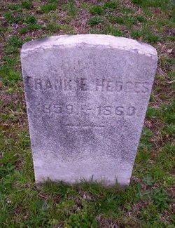 Frank E Hedges