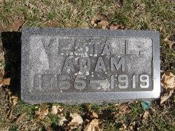 Vesta L <I>Orr</I> Adam